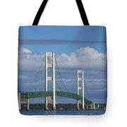 Big Mackinac Bridge 59 Tote Bag