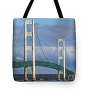 Big Mackinac Bridge 63 Tote Bag
