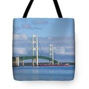 Big Mackinac Bridge 65 Tote Bag