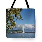 Big Mackinac Bridge 68 Tote Bag