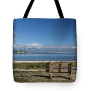 Big Mackinac Bridge 70 Tote Bag