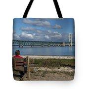 Big Mackinac Bridge 71 Tote Bag