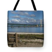 Big Mackinac Bridge 72 Tote Bag