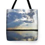 Big Marsh Sunset Tote Bag