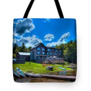 Big Moose Inn - Eagle Bay New York Tote Bag