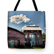 Big Moose Inn Located In Eagle Bay Ny Tote Bag