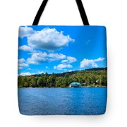 Big Moose Lake In The Adirondacks Tote Bag