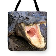 Big Mouth Tote Bag by Adam Jewell