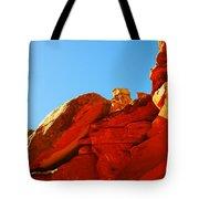 Big Orange Rock Tote Bag