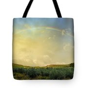 Big Rainbow Tote Bag