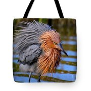 Big Red All Fuzzed Out Tote Bag