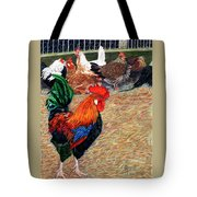 Big Red And The Girls Tote Bag