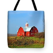 Big Red Barn Tote Bag