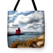 Big Red Big Wind Tote Bag