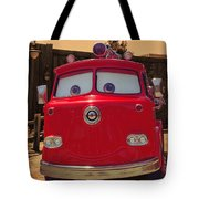 Big Red Carsland Tote Bag