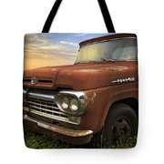 Big Red Ford Tote Bag