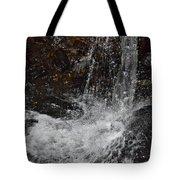 Big Rock Falls Tote Bag