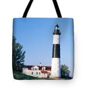 Big Sable Lighthouse Tote Bag