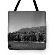 Big Sky Country Montana Bw Tote Bag