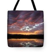 Big Sky Sunrise Tote Bag