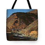 Big Sur Bridge Tote Bag