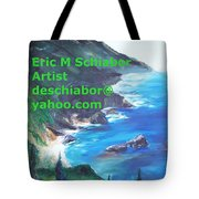Big Sur Califorina Tote Bag