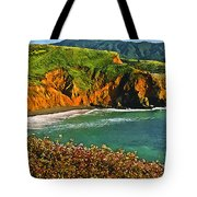 Big Sur California Coastline Tote Bag