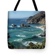 Big Sur Coast From Julia Pfeiffer Burns Tote Bag