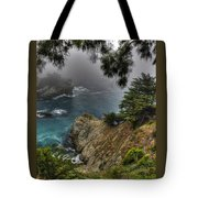 Big Sur Julia Pfeiffer State Park-1 Central California Coast Spring Early Afternoon Tote Bag