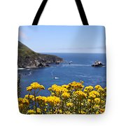 Big Sur Loves Yellow By Diana Sainz Tote Bag
