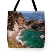 Big Sur - Mcway Falls Tote Bag by Glenn McCarthy Art and Photography