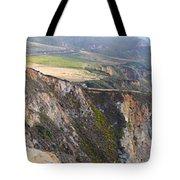 Big Sur Panorama Tote Bag