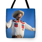 Big Tex - State Fair Of Texas - No. 2 By D. Perry Lawrence Tote Bag