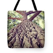 Big Tree Bark Tote Bag