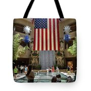 Big Usa Flag 3 Tote Bag
