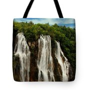 Big Water Fall Croatia Tote Bag