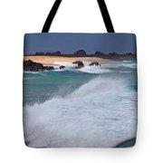 Big Wave Waterscape  Tote Bag