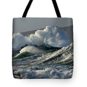 Big Waves At Clogher Beach Tote Bag