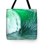 Big Wednesday At The Wedge Tote Bag