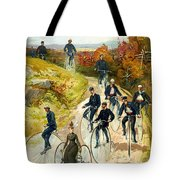 Big Wheel Bicycles Tote Bag