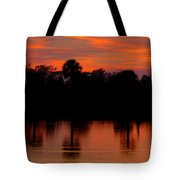 Big Cypress Sunset Tote Bag