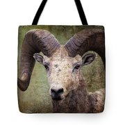 Bighorn Country Tote Bag