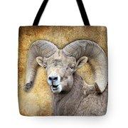 Bighorn Textures Tote Bag