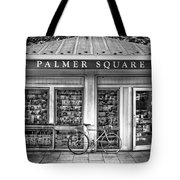 Bike At Palmer Square Book Store In Princeton Tote Bag