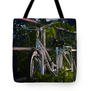 Bike Noir Tote Bag