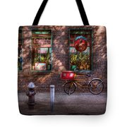 Bike - Ny - Chelsea - The Delivery Bike Tote Bag
