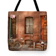 Bike - Ny - Urban - Two Complete Bikes Tote Bag
