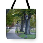 Bike Path Along Kelly Drive Tote Bag