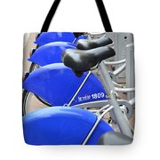 Bike Rental In Marseille Tote Bag