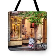 Bike - The Music Store Tote Bag